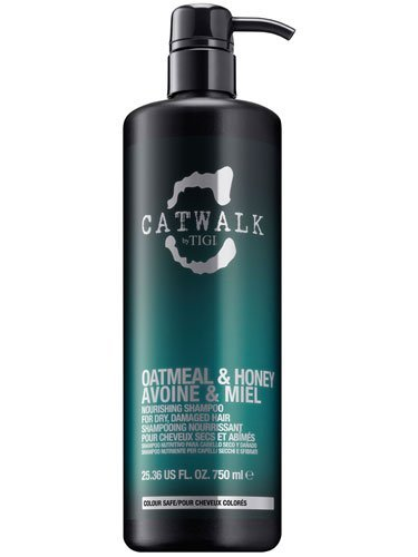 NEW Tigi Catwalk Oatmeal & Honey Nourishing Shampoo For Dry Damaged Hair 750 ml by Tigi