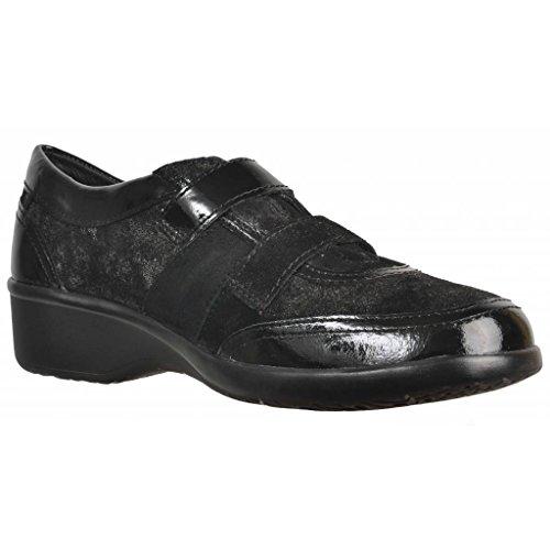 Lacets Pour Femmes, Couleur Noir, Marque Stonefly, Modèle Lacets Chaussures Pour Femmes Stonefly Paseo Ii 72 Noir Noir