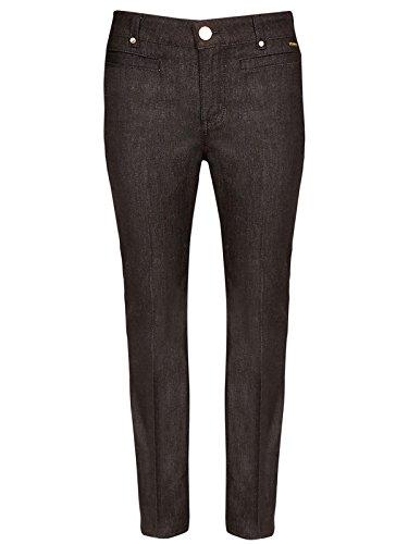 marks-spencer-per-una-black-roma-rise-slim-bootleg-jeans-size-14-long