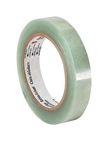tapecase 51,8cm x 72yd translucide électrique Polyester Ruban adhésif transparent, épaisseur 6,3cm, 182,9cm Longueur, 1,8cm Largeur
