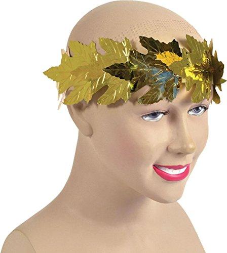 Kleid Weihnachten Zubehör Römische Toga Party Lorbeeren Stirnband Antike Griechenland Blattgold