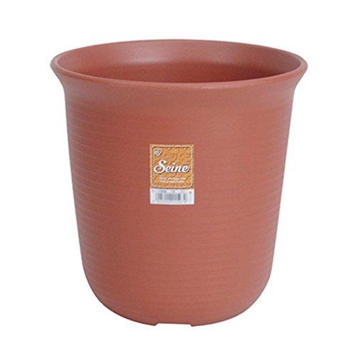 DELLT- Imitation Type Pottery long Résine Pots Brown petites et moyennes Pots de fleurs ( taille : # 10 )