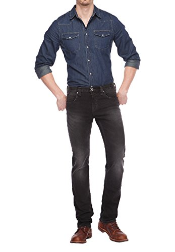 COLORADO DENIM Herren Jeanshose Black Used