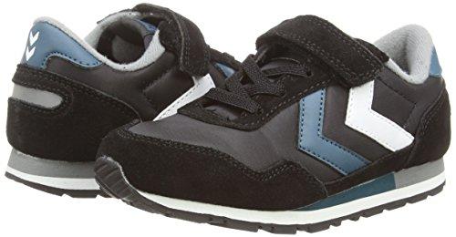 Hummel  Reflex Jr Lo, Jungen Sneaker Schwarz (Schwarz)