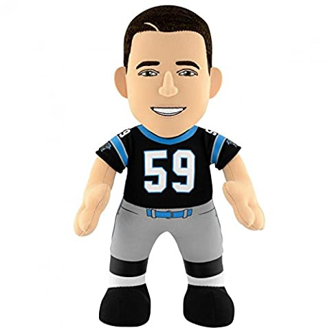 NFL Carolina Panthers Luke Kuechly Gen 2, 10-Inch Plush Figure by Bleacher Creatures