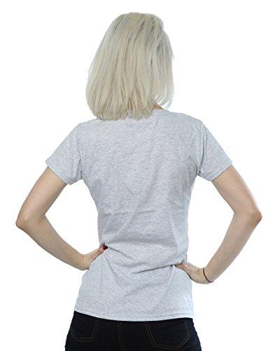 Disney Femme Mickey Mouse Laces T-Shirt Sport Gris
