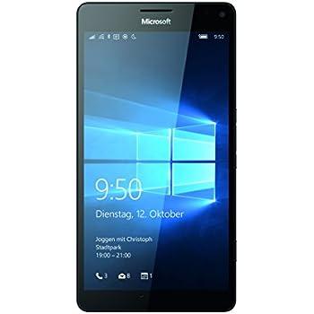 """Microsoft Lumia 950 XL - Smartphone libre (5.7"""", 32 GB, 4G, Windows 10), color negro"""