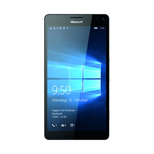"Microsoft Lumia 950 XL - Smartphone libre (5.7"", 32 GB, 4G, Windows 10), color negro"