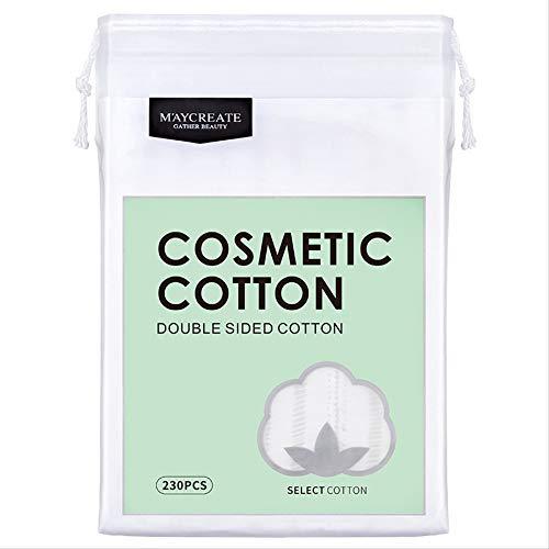 ATXLYT Baumwolle Make-Up Entferner Pads Make-Up Entferner Pads, Aus Bio-Baumwolle, Zum Entfernen Von Augen Make-Up Nagellack Und Für Hautpflegeprodukte 21 * 15Cm Grün 320Pcs * 10 -