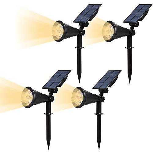 """Opción dos: 1. Oprima el botón """"ON/OFF"""" para encender la luz y la luz en un son donde la lámpara recibirá la luz del sol más. 2 Inserte el motivo sobre la lámpara y utilizar tornillos para montar en la pared.  Atención: A.Keep el panel solar limpio p..."""