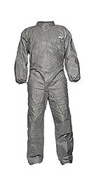 Dupont Proshield Proper Modell Ccf5 Anzug Mit Stehkragen, Größe Xx-large, Grau