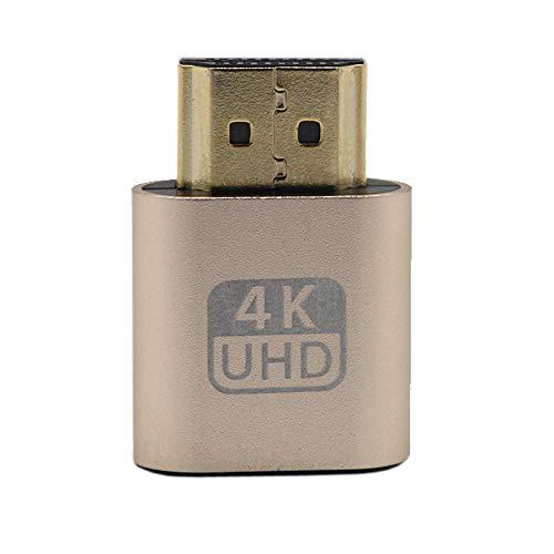 Hengzi HDMI DDC EDID-Zitzenstecker, Headless Phantom, Anzeige-Emulator (Fit Headless-1920x1080 New Generation