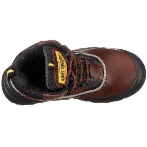 Saftey Jogger GEOS, Chaussures de sécurité mixte adulte Marron-TR-SW1116