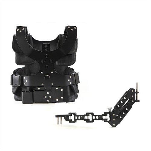 Tarion Profi Schwebestativ Set (Weste und Federarm Schwebestativ Vest) für Camcorder/DSLR-Rig
