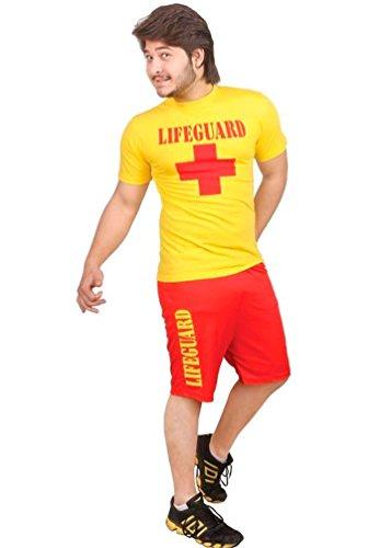 d Fancy Dress Party Kostüm Patrol Miami Beach Wasser Rescue ()
