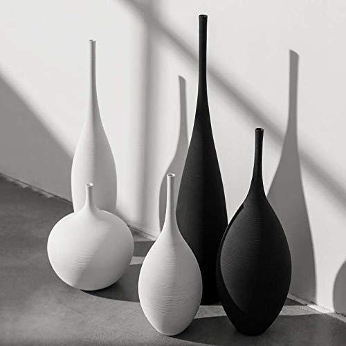 Flower set Hochtemperatur Keramik Moderne minimalistische handgemachte Kunst Zen Vase rustikale Wohnkultur oder als Geschenk (Zen-kunst-set)