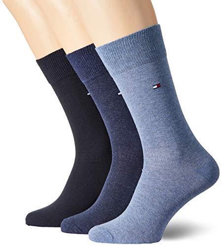 Tommy Hilfiger Herren TH Men Sock Promo AW18 3P Freizeitsocken, Blau (Navy), 43-46 (3erPack)
