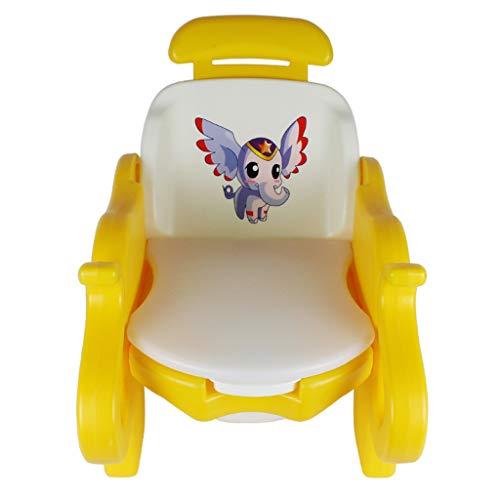 LLRDIAN Erhöhen Sie die Kinder Multi-Funktions-Toiletten Toiletten Baby-Shampoo Stuhl WC Stuhl Töpfchen Verstellbarer Sitz