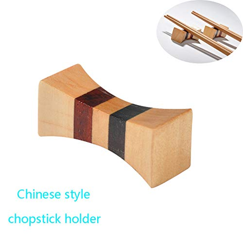 TianranRT Einfach Modern Essstäbchen Rack Fein Geschirr Essstäbchen Halter Chinesisch Stil