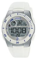 Relojes Lorus Unisex-reloj Novak Djokovic Foundation cuarzo digital caucho R2379KX9