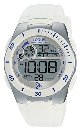 Lorus Watches R2379KX9 Unisex Watch Novak Djokovic Foundation Digital Quartz Rubber