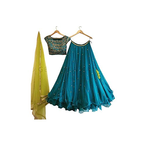 AMIT FASHIONS Indianer Designer Lehenga Choli für Frauen Lehenga Designer
