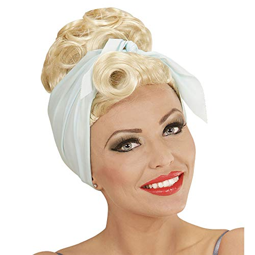 Widmann - Perücke Rockabilly Pin Up Girl mit Haarband