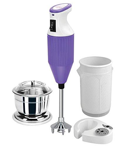 Jaipan JPCON_PL 200-Watt Convenient Hand Blender (Purple)