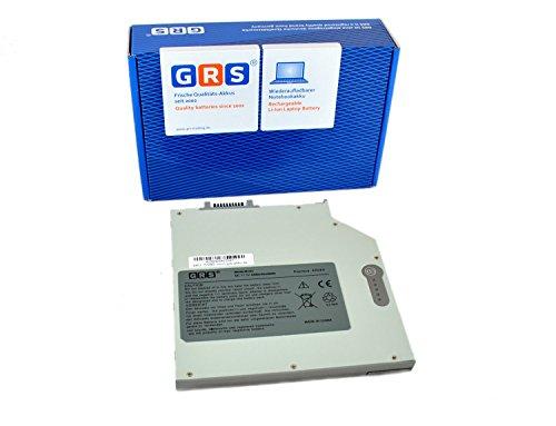 GRS® Notebook Akku Mediabay für Dell Latitude D500, 500M, 505, 510M, D520, D531, 600M, D600, D610, D620, D630, D800, D810, Laptop Batterie 4400mAh, 11.1V/ 49Wh ( Zusatzakku, der im CD/DVD Schacht des Notebooks eingesetzt wird)