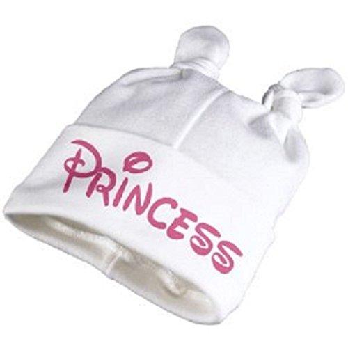 Babymütze PRINCESS - Erstlingsmütze 0-3Mon. Mädchen-12074