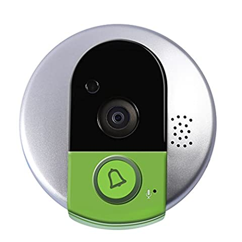 AHECE HD Video Drahtlose WiFi Türklingel Türsprechanlage Gegensprechanlage Türüberwachung Türglocke Kabellose Türklingel Funk schnurlos Tür Klingel Klingelknopf Wireless Digital Doorbell für Smart Home Security
