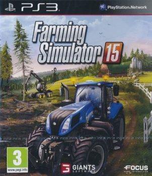 Landwirtschafts-Sim. 15 PS3 UK multi