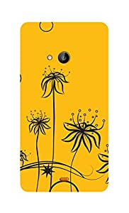 SWAG my CASE Printed Back Cover for Microsoft Lumia 535