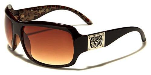 Kleo Sonnenbrillen Modisch - Fashion - Pilotenbrille - Radfahren - Moto / Capri Bernstein