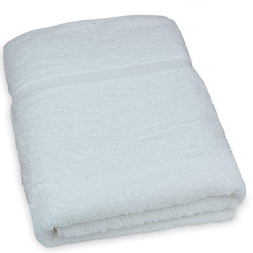 Luxus Hotel & Spa Handtuch Türkische Baumwolle Handtücher, baumwolle, weiß, Bath Sheet - Set of 1 - Weiße Türkische Handtücher