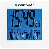 Blaupunkt CL02WH radio-réveil avec thermomètre à affichage à cristaux liquides, blanc Date