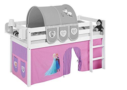 Vorhang Eiskönigin Lila - für Hochbett, Spielbett und Etagenbett