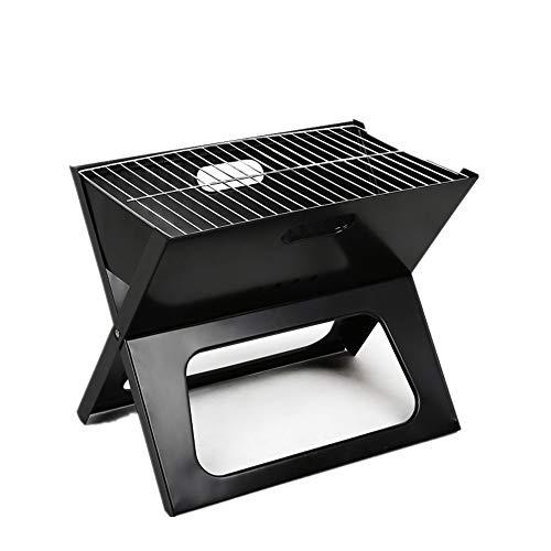 GRASSAIR Parrilla Portable del BBQ del Carbón De Leña En La Barbacoa...