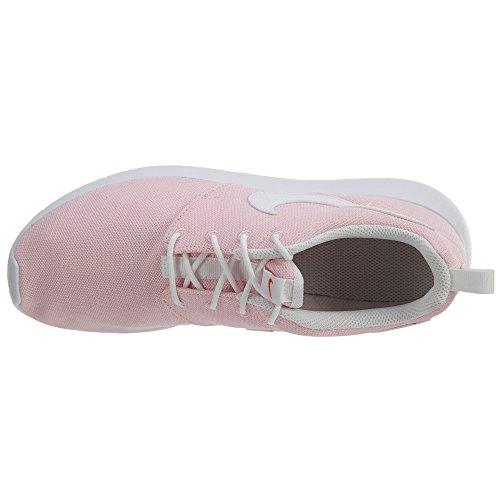 Nike Roshe Run 599729, Mädchen Laufschuhe Training Prism Pink/White/Safety Orange