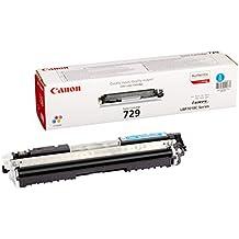 Canon 729 C - Cartucho tóner, 1000 páginas, color cian