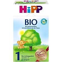 Infantil Hipp Orgánico Fórmula 1 desde el nacimiento, 600g