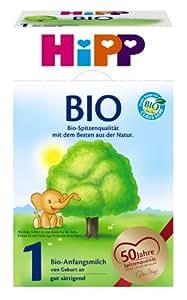 Hipp 1 Bio, 4er Pack (4 x 600 g Packung)