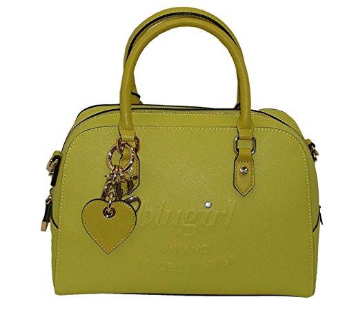 Borsa bauletto due manici BLUGIRL by blumarine BG 929004 women bag GIALLO