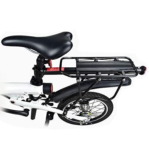 MXBIN Rack de sorage de aleación de Aluminio for Qicycle EF1 Rack de Carga de Bicicleta eléctrica...