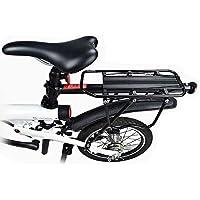 Pinkfishs BIKIGHT de aleacion de Aluminio sorage Rack para XIAOMI Qicycle EF1 electrico Bicicleta Cargo Rack Trasero Rack 90kg Carga de rodamiento rapido Montar -