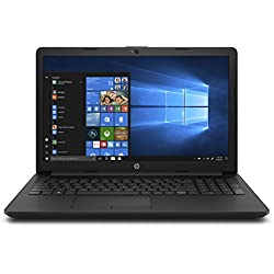 "HP Notebook 15-da0014ns - Ordenador Portátil 15.6"" HD (Intel Core i3-7020U, 4 GB RAM, 500 GB HDD, Intel Graphics, Windows 10), Color Negro - Teclado QWERTY Español"