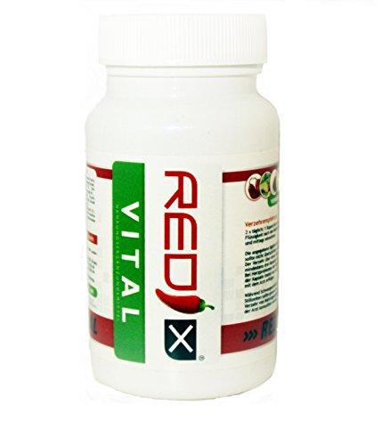 Abnehmen Pillen Redix Vital mit 60 Diät Kapseln für eine effektive Fettverbrennung (Aktionspreis) / natürlich und schnell Abnehmen