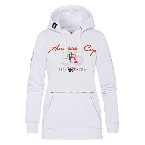 GAASTRA Femme Hoodie America's Cup Femmes Weiß