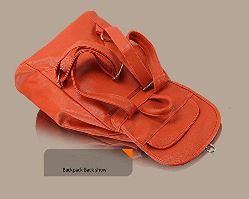 Eysee - Borsa a Zainetto donna Orange
