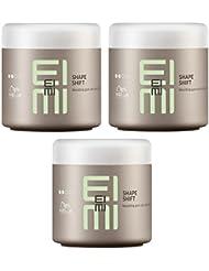 Wella Professionals Eimi Shape Shift Formen Gum mit Glanz Finish 3x 150ml Set mit stapiz Haare SHAMPOO 15ml oder Maske 10ml